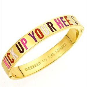 Kate Spade Kick Up Your Heels Gold Bracelet